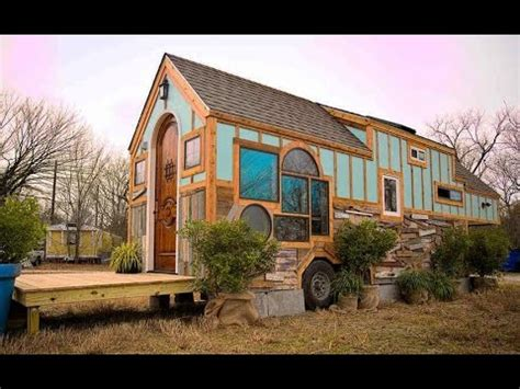 tiny house 500 sq ft luxury tiny house on wheels under 500 sq ft youtube
