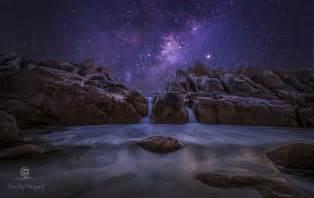Science fiction milchstra 223 e night ozean starry sky stein australien