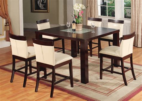 tall dining room table counter height dining room sets mcgregor counter height