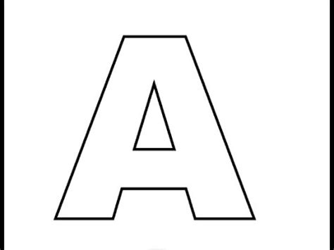 how to draw block letters youtube