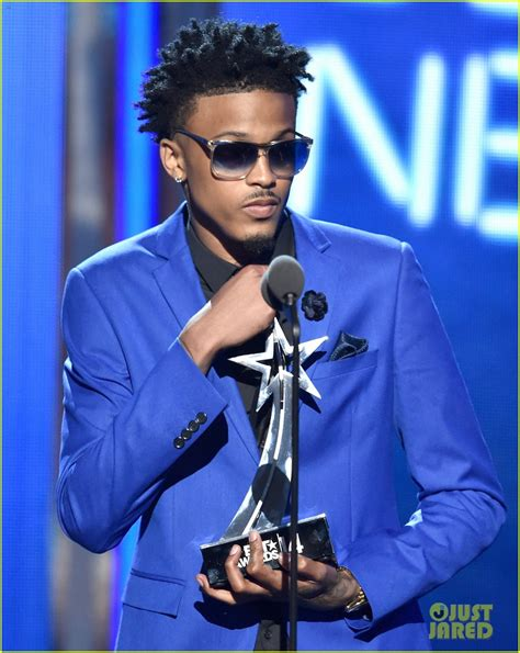 august alsina body measurements newcomer august alsina has a big night at bet awards 2014