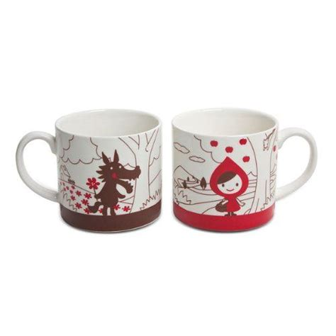 cool cups in the hood decole little red riding hood mug set decole http www amazon com dp b004s868zg ref cm sw r pi