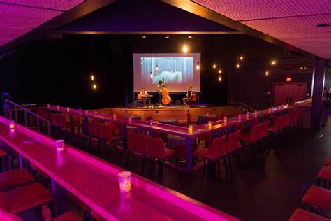 cabaret style seating kanbar forum exploratorium