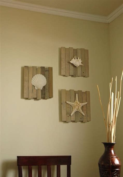 three shells bathroom home d 233 cor with beach shells wall decor beaches and