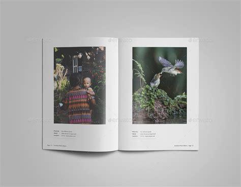 photo album template photography portfolio or photo album template by alhaytar