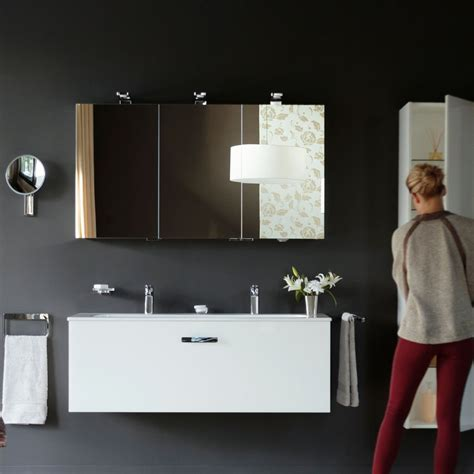 Cabinet Univers by Keuco Royal Universe Mirror Cabinet 1000x752mm