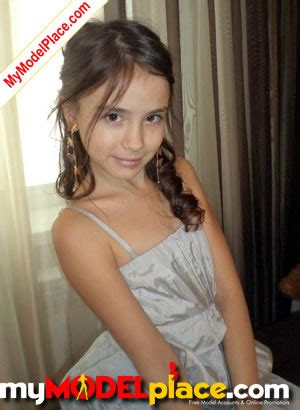 child model ultra new model portfolio added by child model liana at