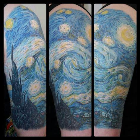 starry night tattoo designs best 25 starry ideas on gogh