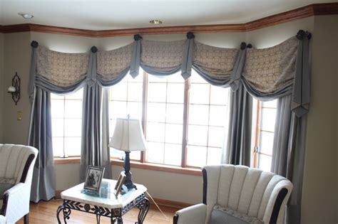 swag valances for living room casual swag valances in formal living room traditional