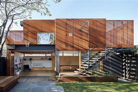 modern addition to family residence also doubles as a