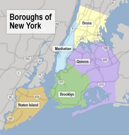 map of new york city boroughs new york city maps nyc and manhattan map