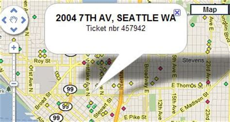 seattle city light locations maps mania fixing lights with maps