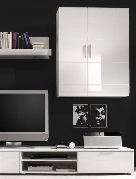 jugendstil wandfarben - Schrankwand Wohnzimmer Weiß