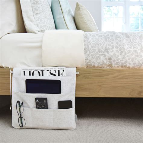 bed caddy stackers bedside caddy the container store