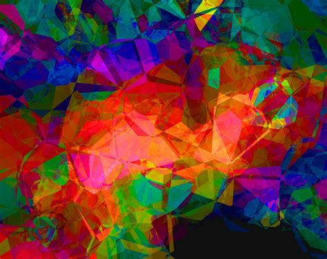 colorful images colorful abstract polygon 183 free image on pixabay