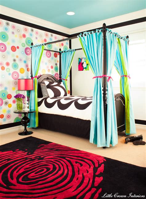 colorful teenage girl bedroom ideas funky modern colorful girl s bedroom