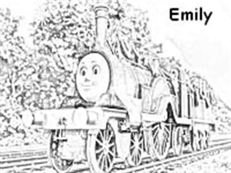 emily train coloring page emily the train coloring page thomas the train