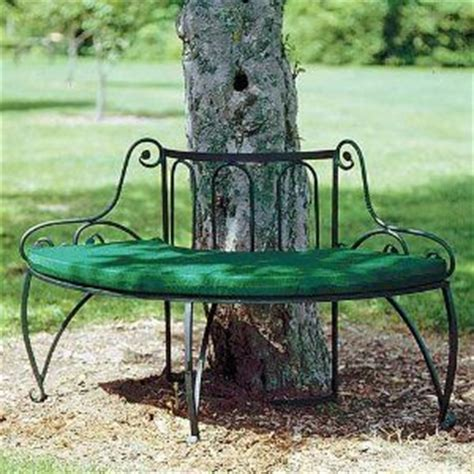 semi circular garden bench 1000 images about garden benches around tree on
