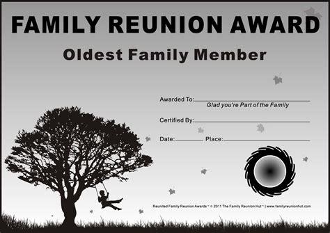Free Family Reunion Templates Family Reunion Certificates Down South 18 Is A Free Family Free Family Reunion Survey Templates