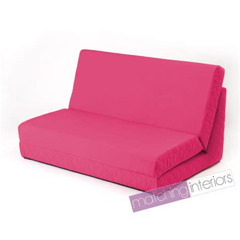 fold out couch mattress pink fold out z bed double chair 2 seat sofa guest bed