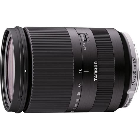 Dijamin Tamron 18 200 Mm Vc For Canon tamron 18 200mm f 3 5 6 3 di iii vc lens for canon eos m black lenses photopoint