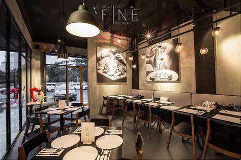 referensi inspirasi desain ruangan restoran minimalis