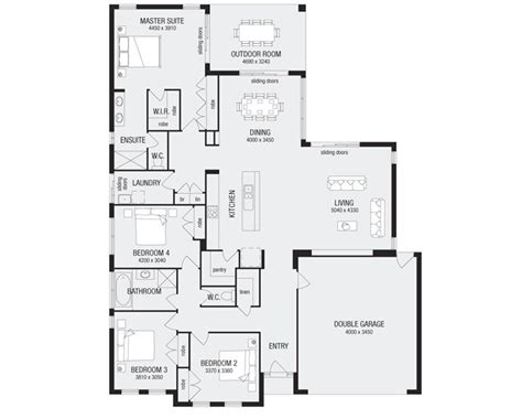 metricon homes floor plans grandview 26 new home floor plans interactive house