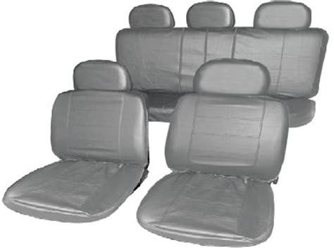 nissan juke seat covers 2016 uk nissan juke grey leather look seat cover set ebay