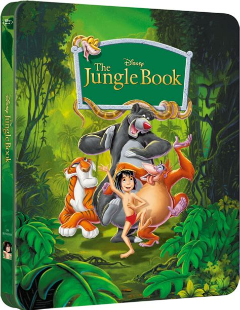 libro walt disneys the jungle the jungle book zavvi exclusive limited edition steelbook the disney collection 2 blu ray
