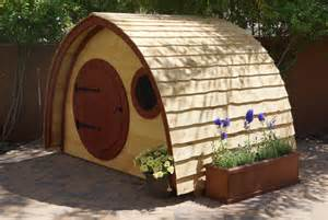 hobbit hole playhouse kit outdoor wooden kids playhouse with