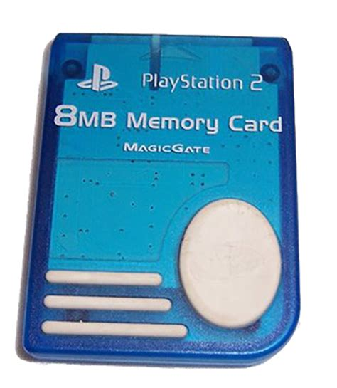 Memory Card Ps2 8mb By Winzgame 8mb memory card blue for playstation 2 ps2 expansion