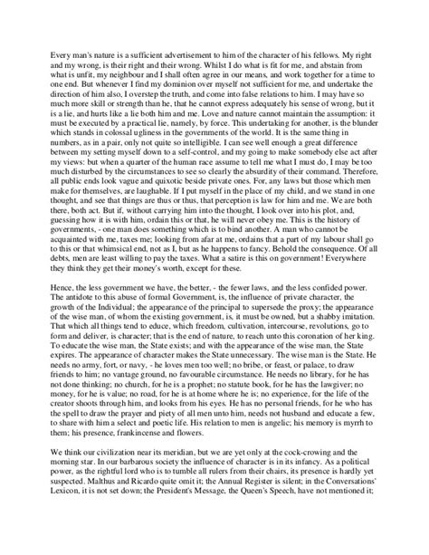 Disobedience Essay by Essay Civil Disobedience