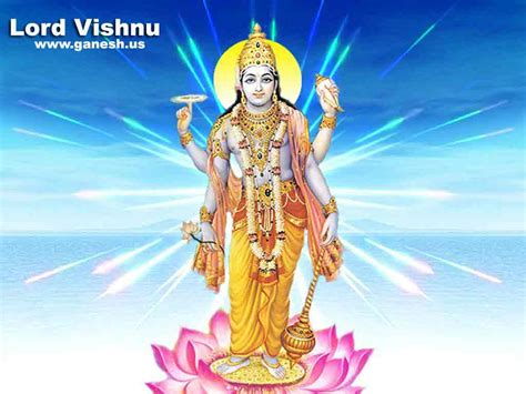 lord vishnus hindu lord vishnu