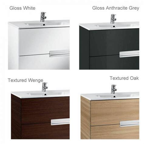 roca bathroom vanity units roca n 2 drawer vanity unit with basin uk bathrooms