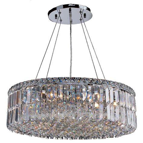 12 Collection Of Modern Chrome 12 Ideas Of Chrome Chandelier