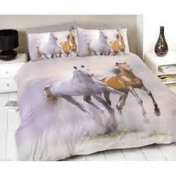 King Size Bedding With Horses Spirit Cotton Duvet Cover More Duvets Are Available