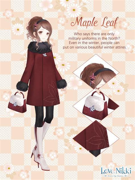 maple leaf love nikki dress  queen wiki fandom