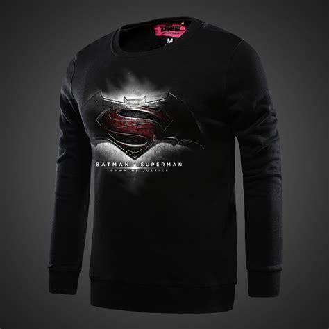 Hoodie Batman Vs Superman Xxxv Cloth batman v superman sweat shirt black of justice hoodies for boy wishining