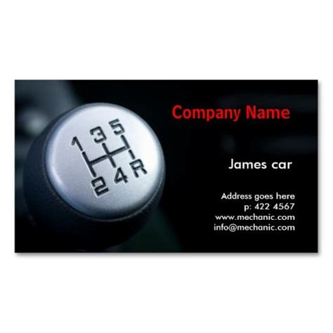 mechanic card template 19 best auto mechanic business cards images on
