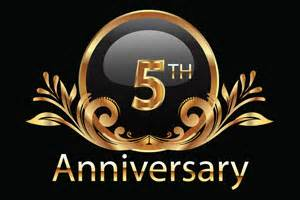 it s our 5th anniversary who s gettin the 50