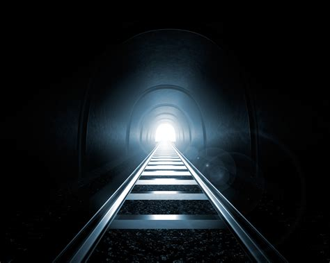 Light End by Light At The End Of The Tunnel 3d Render Hoshana