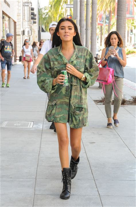 madison beer kygo madison beer goes out in camo zimbio