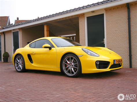 porsche cayman yellow 2006 porsche cayman s yellow wallpaper 1024x768 39375