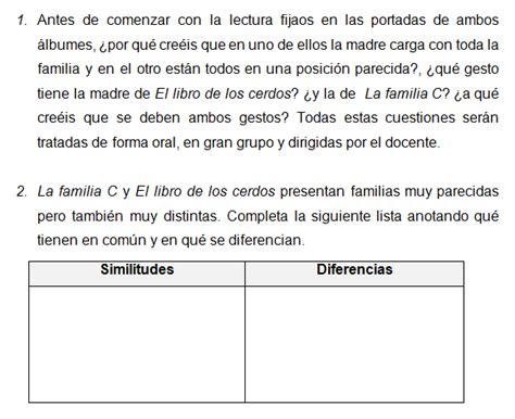 el libro de actividades diversidad familiar en el aula actividades para la familia c y el libro de los cerdos