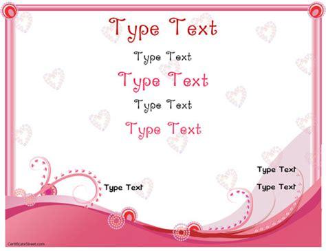 love templates for blogger romance love certificate template pdf www