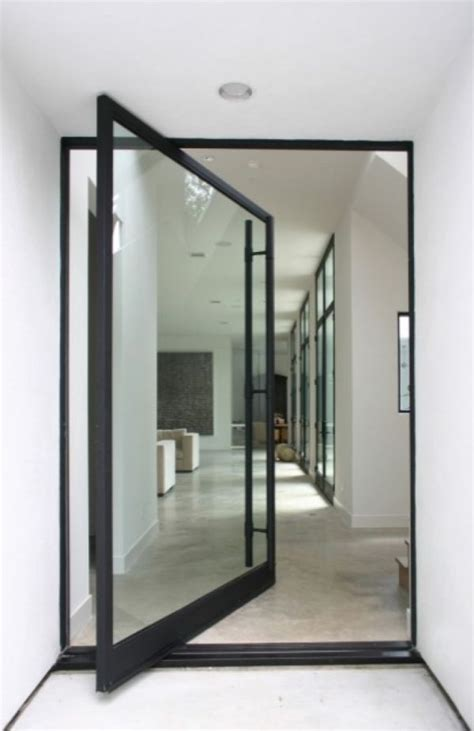 Pivot Glass Door Impress Your Guests And Increase The Entryway Appeal With Pivot Doors