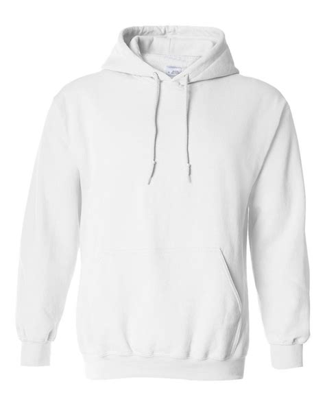 Hoodie Sweater Heck A Day Front Logo hooded plain white sweatshirt pullover hoodie fleece cotton blank ebay