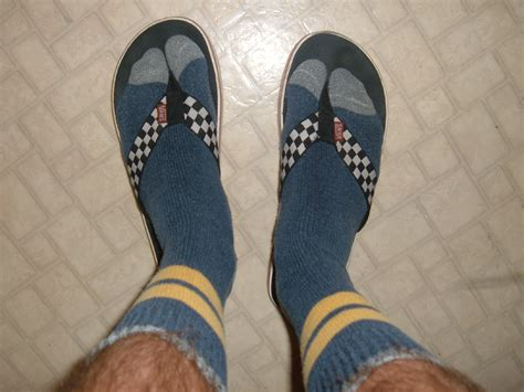 sandals and socks from unfashionable to height of fashion