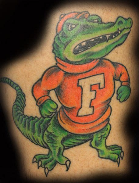florida gator tattoos pin florida gator tattoos page 7 picture to