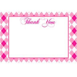 4 x 6 thank you card template 4 best images of thank you cards 4x6 free printable